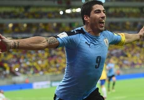 Suarez: Uruguay return was emotional