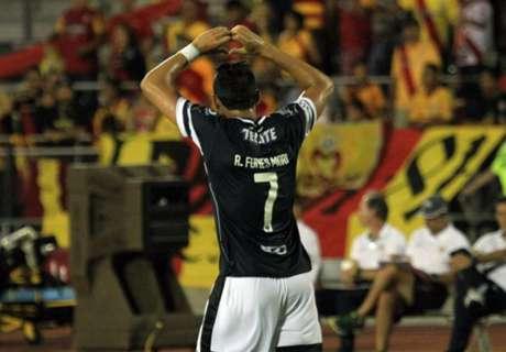Debut goleador de Funes Mori