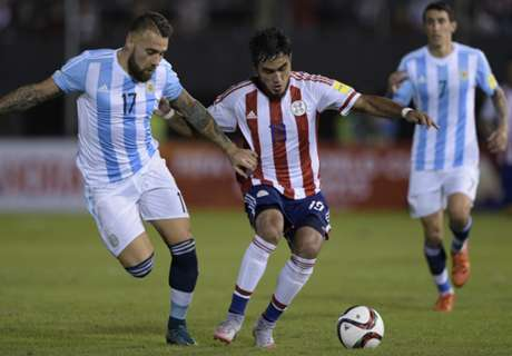 Ratings: Paraguay 0-0 Argentina