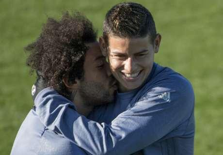 FOTO: Marcelo y James, a los besos