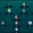Estos jugadores destacaron en la jornada y se ganaron un lugar en el equipo ideal.