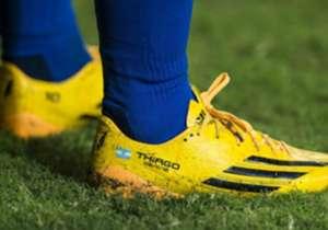 De 2005 a 2017: un repaso por los diferentes calzados que usó el argentino.
