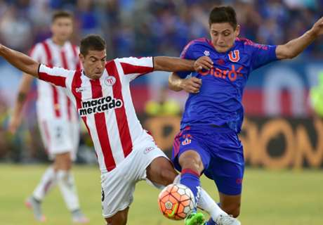 ► U. de Chile 0-0 River Plate