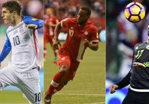 Estos son los jugadores que más regates han completado en lo que va de las Eliminatorias de la Concacaf para el Mundial Rusia 2018.