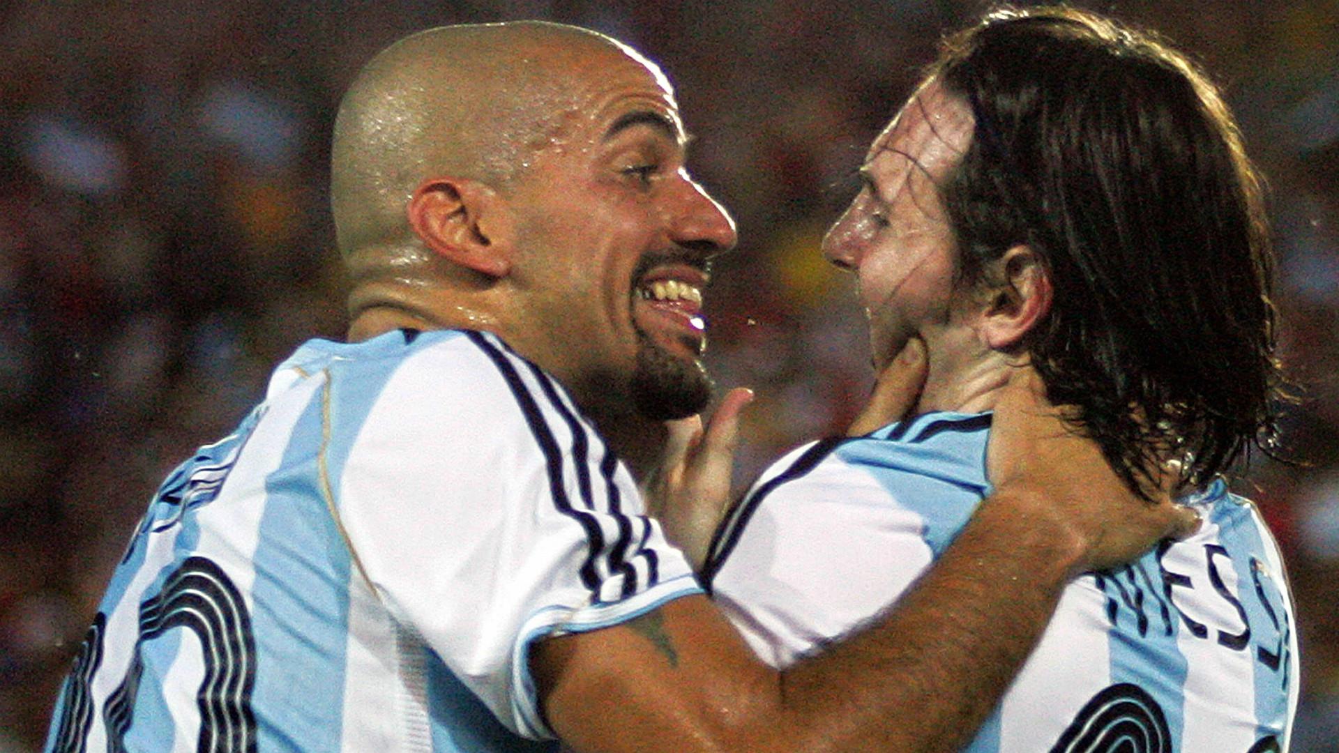 Juan Sebastian Veron Lionel Messi Argentina Mexico Copa America