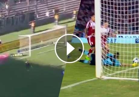 ► Gol errado: ¿Benedetto o Andrade?