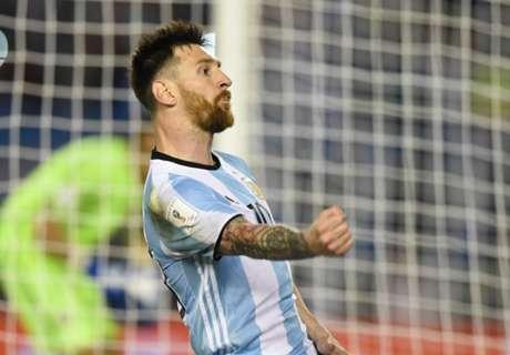 Qual. Sudamerica: Argentina e Brasile ok