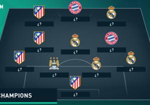 Los que la rompieron en el camino rumbo a la final del torneo más prestigioso de Europa.