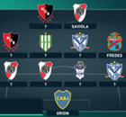 El anti XI del Torneo de Primera División