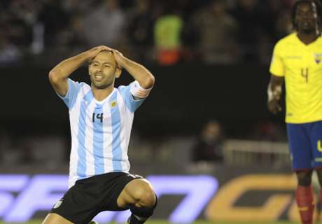 Argentina capitulate without Kun and Messi