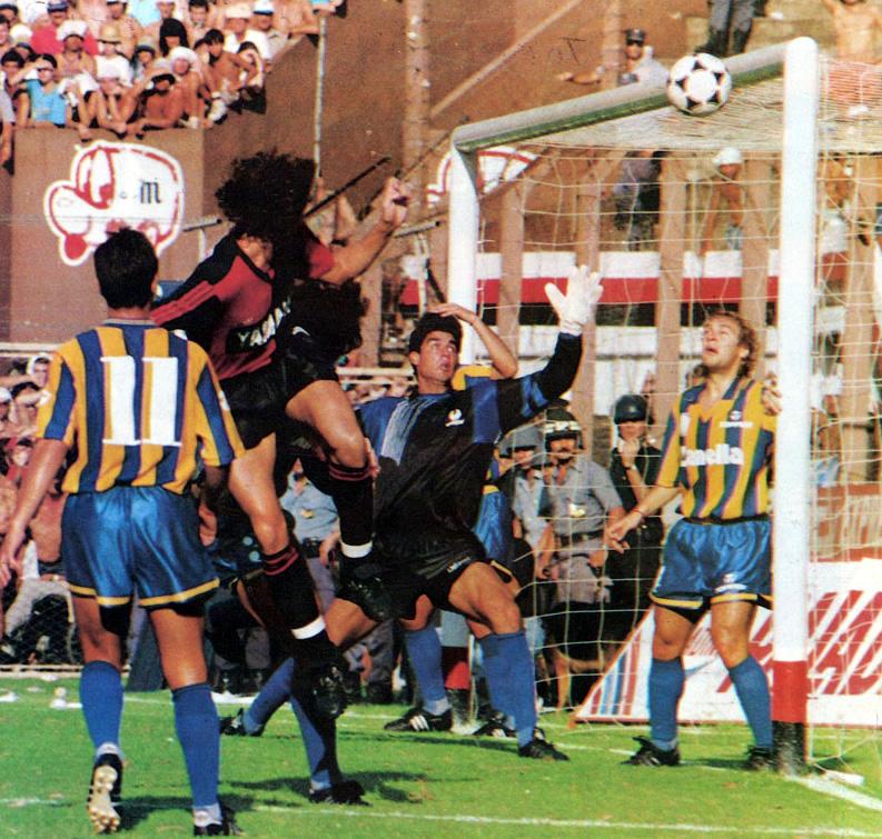 Newells Rosario Central Primera Division 1992