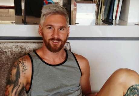 ¡El rubio Messi!
