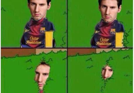 Las redes le pegan al Barcelona