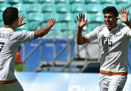 México goleó a Fiyi