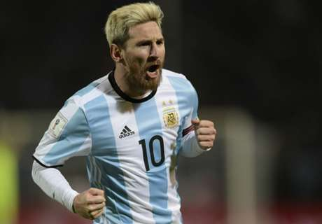 STATS: Argentina without Messi
