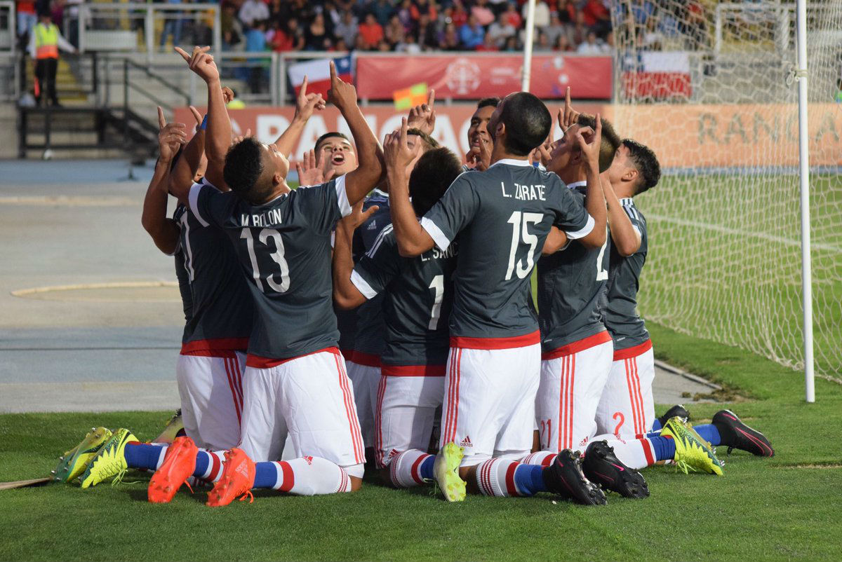 Brasil lidera el hexagonal del Sudamericano Sub17