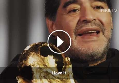 De Diego a la Copa del Mundo: