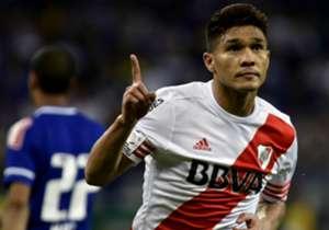 Teófilo Gutiérrez se reencontró con el gol en su único remate ante Cruzeiro, para darle a River la definitiva clasificación a semifinales. PUNTAJE OPTA: 69
