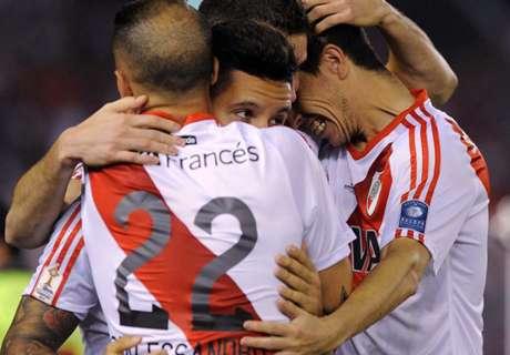 Recopa: River Plate 2 x 1 Santa Fé