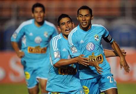 Libertadores: Cristal 1-1 Guaraní