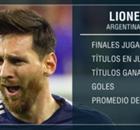 Todas las finales de Messi