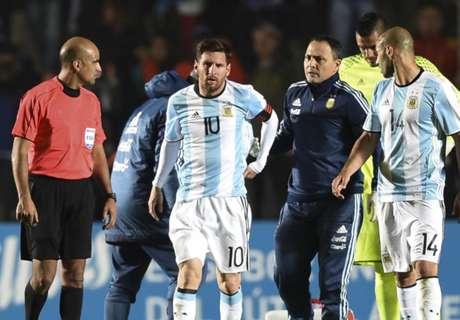 Messi se recupera de la lesión