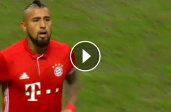 Vidal se retiró molesto con su rendimiento ante Hertha Berlín ►