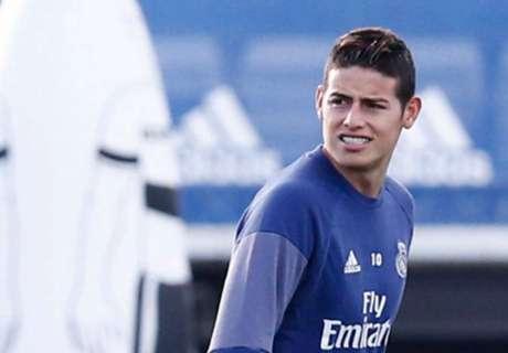 ¿Extraña a James el Real Madrid?