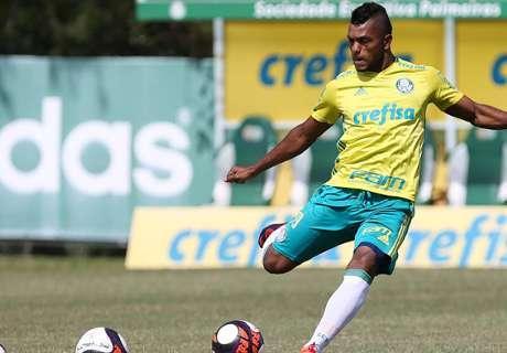 Borja preocupa en el Palmeiras