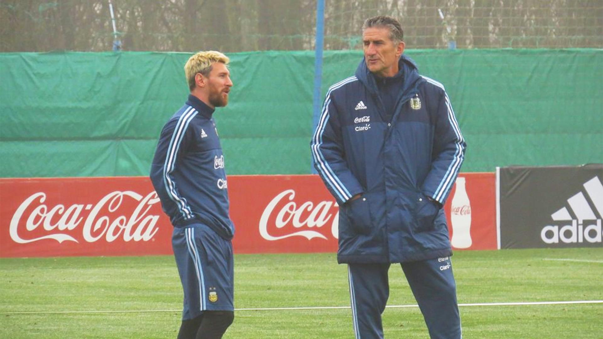 Messi es desequilibrante y cambia el partido contra Argentina — Muslera
