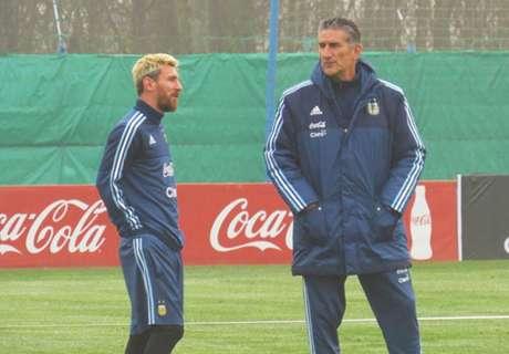 El Patón, el Papa y Messi juntos