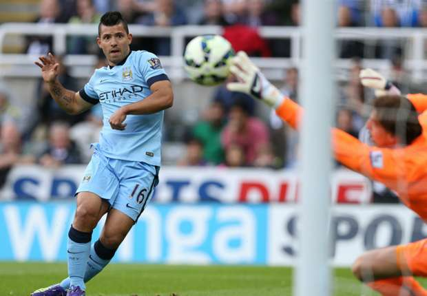 1 Sergio Aguero Manchester City Newcastle Premier League 17082014.