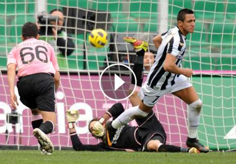 El día que Alexis hizo historia ante Palermo