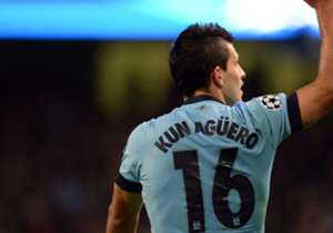 9) Sergio Agüero - Manchester City