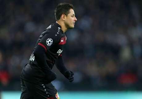 Chicharito, MVP en la Bundesliga