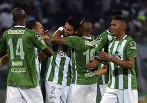 Daniel Bocanegra con un tremendo golazo y Marlos Moreno, figura del certamen, le dieron la victoria a los verdes.