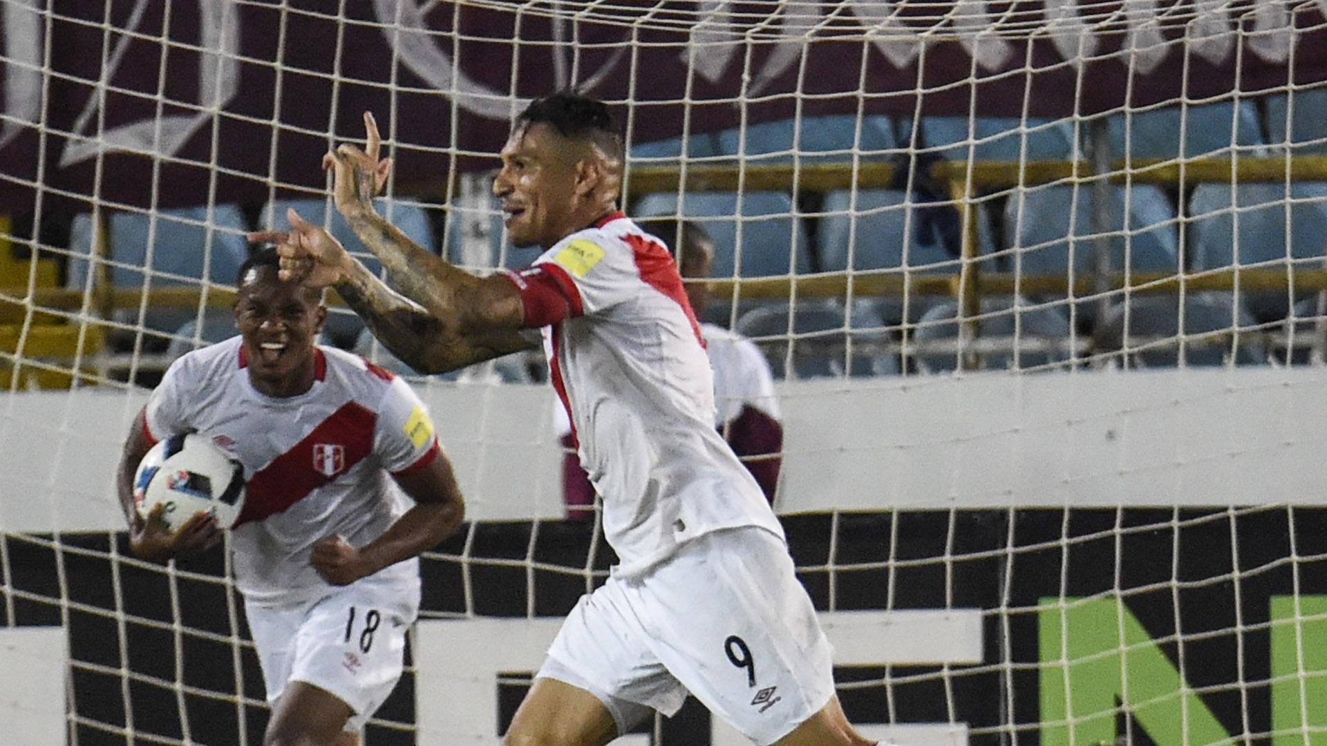 Paolo Guerrero Peru Venezuela eliminatorias 23032017