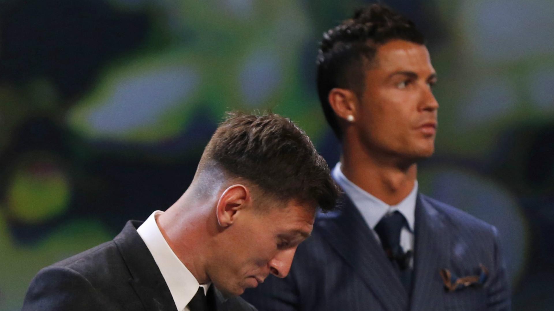 lionel messi cristiano ronaldo uefa champions league group stage draw ceremony 27082015