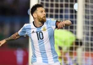 LIONEL MESSI | ARGENTINA | Partidos: 115 - Goles: 56 - Promedio: Gol cada 2.05 partidos