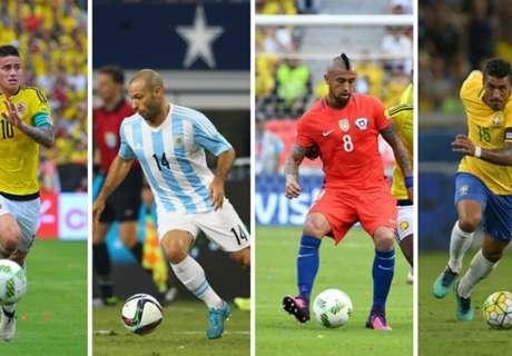 El ranking FIFA en julio