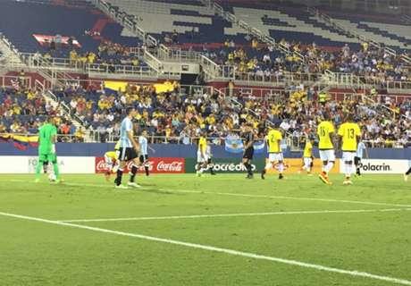 Amistoso: Argentina 0-0 Colombia