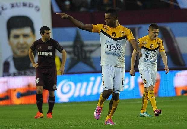 Lanús lo ganaba gracias a un gol de Borja en contra, pero el colombiano puso el 1-1 para Olimpo.
