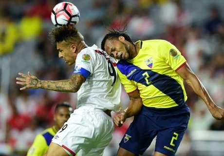 STATS: Ecuador 2-2 Perú