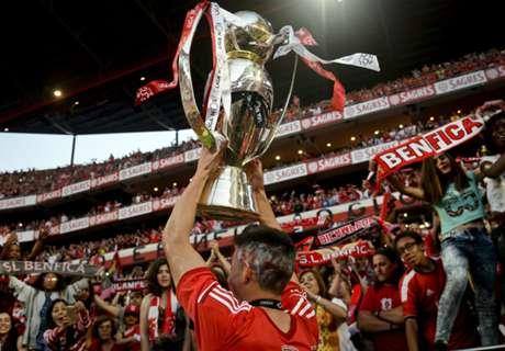 Gaitán se despidió de Benfica