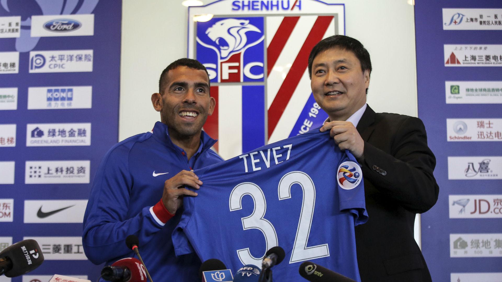 Carlos Tevez Shanghai Shenhua 21012017