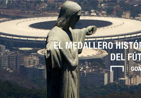 El medallero del fútbol en los JJOO