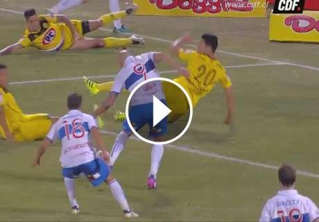 Silva con el arco torcido: erró ¡siete! goles