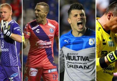 Los mejores arqueros de la Liga MX