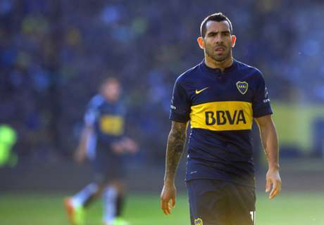 VIDEO: Tevez still waiting for Boca goal