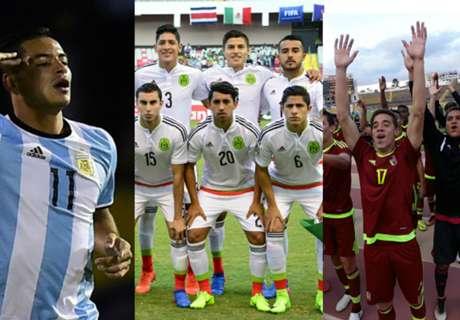 Los clasificados al Mundial Sub 20